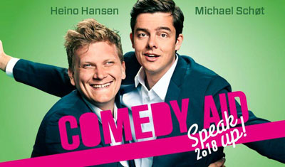 Comedy AID 2018 – Speak Up!
